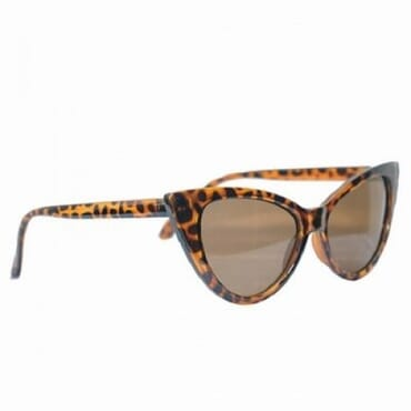 Posh Kollect Cat Eye,Sunglasses,-Brown Print