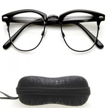 Posh Kollect Clubmaster ,Reading Glasses, -Black
