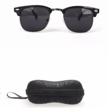 Posh Kollect Clubmaster ,Sunglasses, -Black