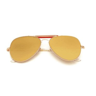 Posh Kollect Cross-Bar ,Aviator, - Gold
