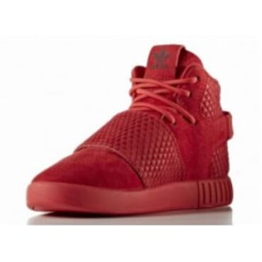 ADIDAS TUBULAR INVADER-RED OCTOBER,Sneakers