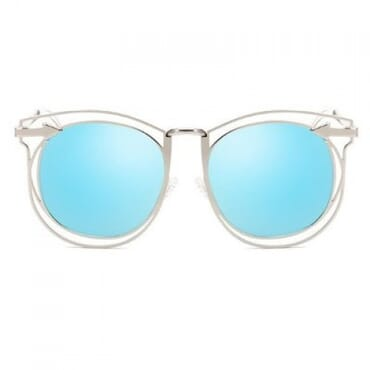Vintage Arrow Sunglasses- Blue