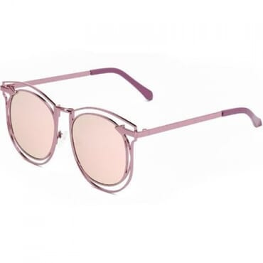 Vintage Arrow Sunglasses- Peach