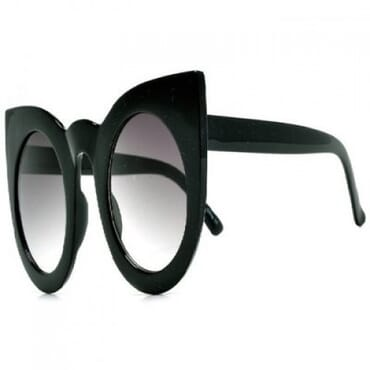 Posh Kollect Oversize Round ,Cat Eye Sunglasses,