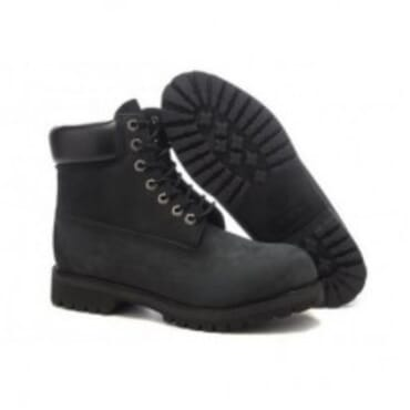 TIMBERLAND BLACK PREMIUM BOOT,Mens boots