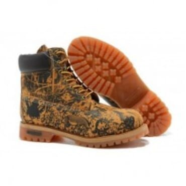 TIMBERLAND CLASSIC ANIMAL PRINT BROWN,Mens BOOTs