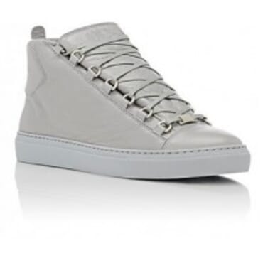 Balenciaga Arena High-Top- Silver,Sneakers
