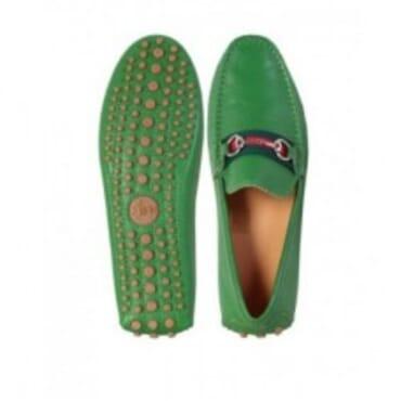 DAMO DRIVING | GREEN-Mens Shoe