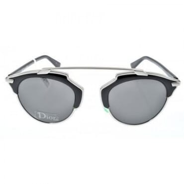 Christian Dior SO REAL ,Sunglasses, - Black/Smoke