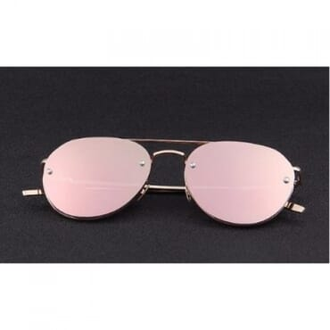 Colorful Integrated ,Sunglasses, - Peach