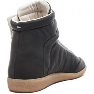 MAISON MARTIN MARGIELA FUTURE LEATHER HIGHTOP,SNEAKERS