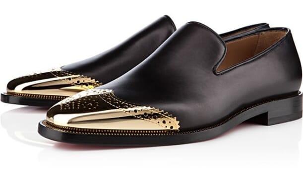 Chriatian Louboutin 'Metal Henri' leather shoe