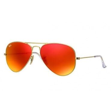 MIRROR ,SUNGLASSES, DARK ORANGE