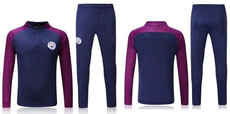 2017/2018 Nike Manchester City Track suit