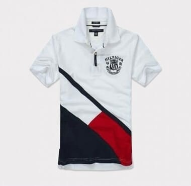 Tommy Hilfiger Mens Shirt-white and black