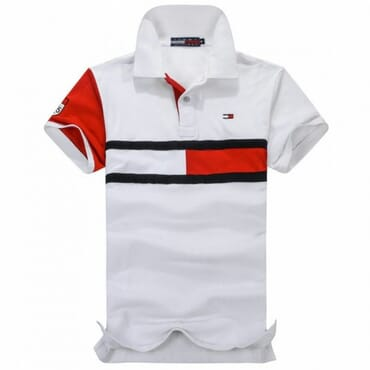 Tommy Hilfiger Signature Mens Shirt-White