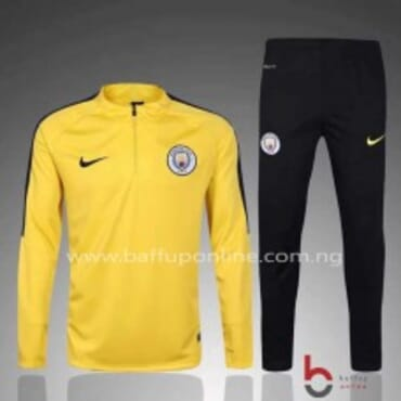 2017/2018 Nike Manchester City Alternative Track suit