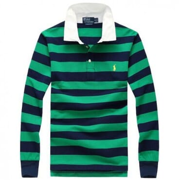 Raulph Lauren green& blue men's polo