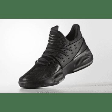 ADIDAS D LILLARD 3 BLACK ,Sneakers