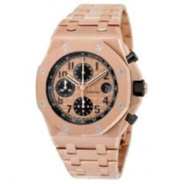 AUDEMARS PIGUET PINK GOLD,Chain wristwatches