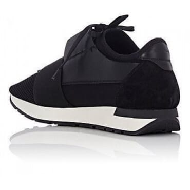 Balenciaga race runners black White sole,Sneakers