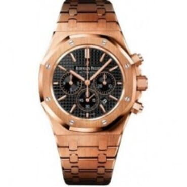 Audemars Piguet Royal Oak Black Dial 26320OR.OO.1220OR.01,Chain wristwatches