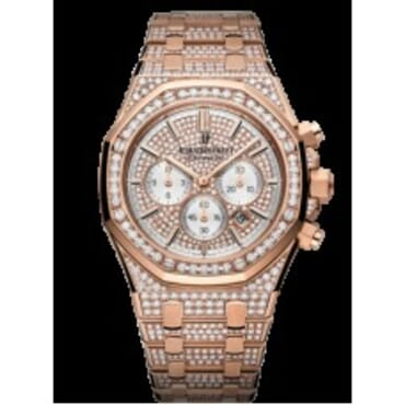 Audemars Piguet Royal Oak Chronograph Full Studded,Chain Wristwatches