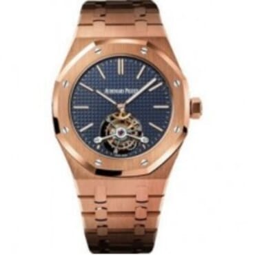Audemars Piguet Royal Oak Extra Thin Tourbillon Rose Gold,Mens Chain Wristwatches,
