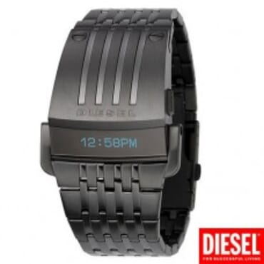 Black Diesel DZ7111 Men's Digital, Stainless Steel Watch