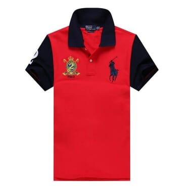 Polo Raulph Lauren Casual Shirt-Red