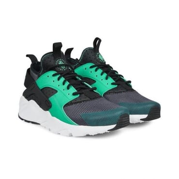 Nike Air Huarache Run Ultra Black Green,Sneakers