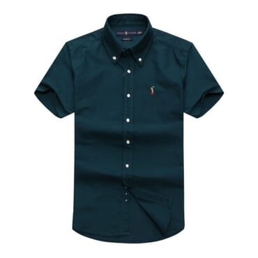 Mens RL ,Polo Shirt,-Deep Green