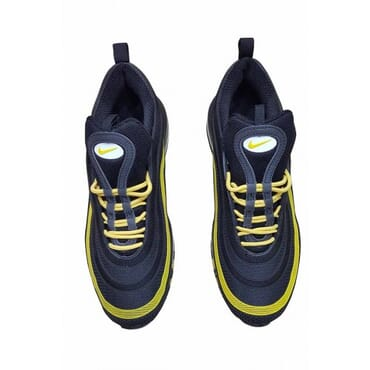 NIKE AIR MAX 97 BLACK YELLOW,Sneakers