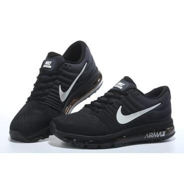 Nike Air Max 2017 Black Running Trainers, Sneakers,