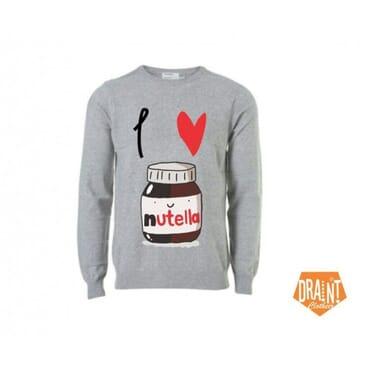 I ? Nutella ,Sweatshirts,