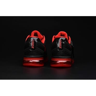 Nike Air Max 2017 Black & Red Running Trainers, Sneakers