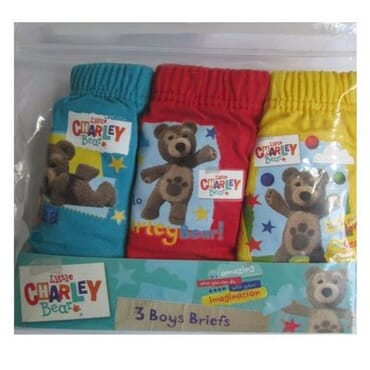 Boys Little Charley Bear Briefs