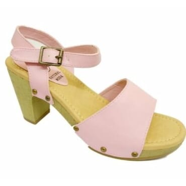 Ladies Open Toes Sandals - Pink