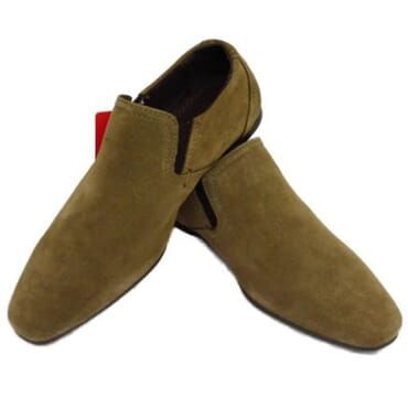 Red Tape Boy's Suede Loafers