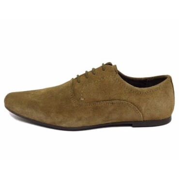 Red Tape Boy's Suede Leather Lace-Up Shoe