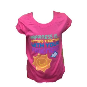 Girls Tee Shirt - Pink