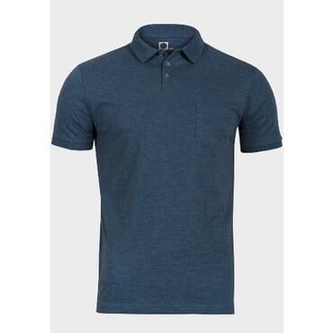 Navy Blue Men's Polo Tee Shirt