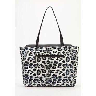 A&S Animal Print Holographic Tote Bag