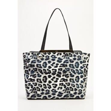 A&S Animal Print Holographic Tote Bag