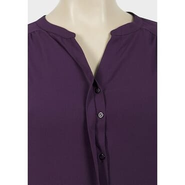 River Island Purple Chiffon Top