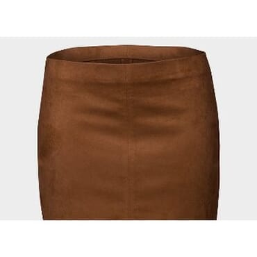 Atmosphere Suedette Front Slit Pencil Skirt