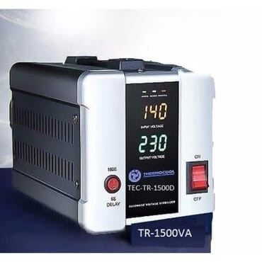 Thermocool 1500VA Digital Stabilizer TEC-TR-1500D