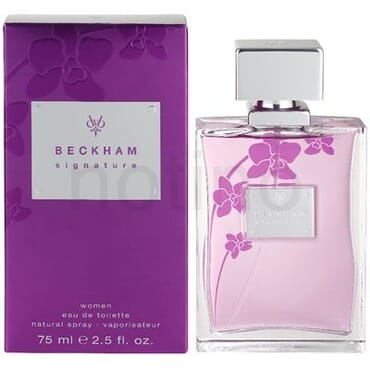 David Beckham signature EDT 75ml for women