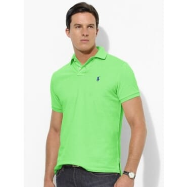 Cotton ,Polo Raulph Lauren Shirt,-Light Green