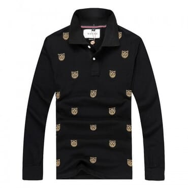 GG Print,Casual Mens Shirt